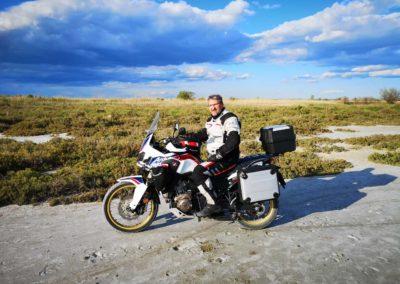 en voyage découverte à moto